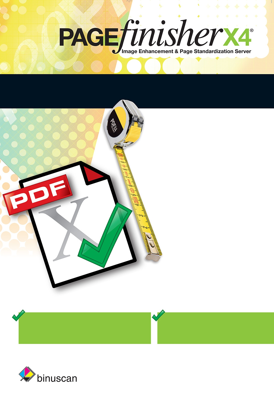 pagefinisher x4 et pagefinisherpro standardize your pdf pages for